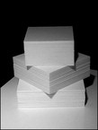 FOAM-CORE Pre-Cut Sheets Standard & Non-Standard Mounting & Backing Boards BACKBOARD � MATERIALS