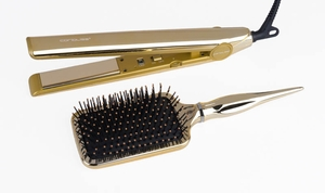 Corioliss C1 Gold Kit Titanium Flat Iron 1 - Click to enlarge