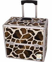 Giraffe Rolling Travel Makeup Case