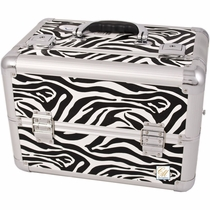 New Pro Artist Zebra Makeup Case