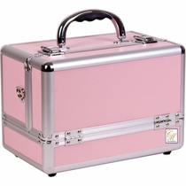 Pink Pro Smooth Side Open Case