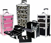 Holiday Pro Rolling Makeup Cases
