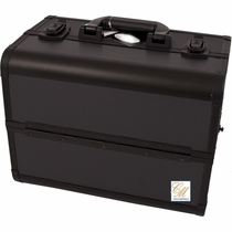 Pro Six Tier Black  Makeup Case