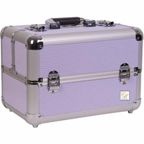 Purple Pro Makeup Case