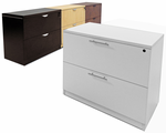 2�Drawer Laminate Lateral Files - IN STOCK!