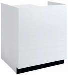 3'W Salon Reception Desk/ Check-In Counter � Other Sizes Available