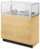 3'W Full-View Counter Merchandise Display Case - Other Sizes Available