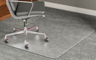 "High Pile Carpet .25"" Thick Chair Mats w/Beveled Edges - 36""x 48"""