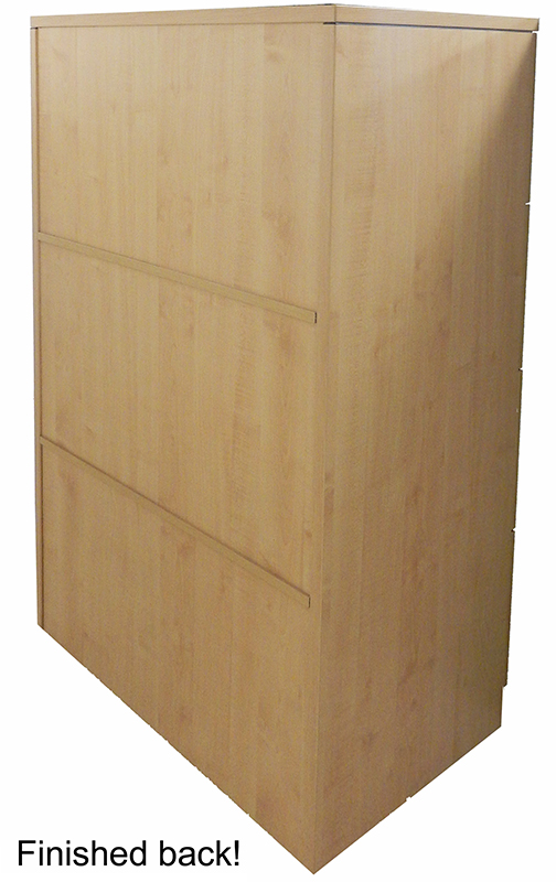 4 Drawer Laminate Lateral Files In Stock