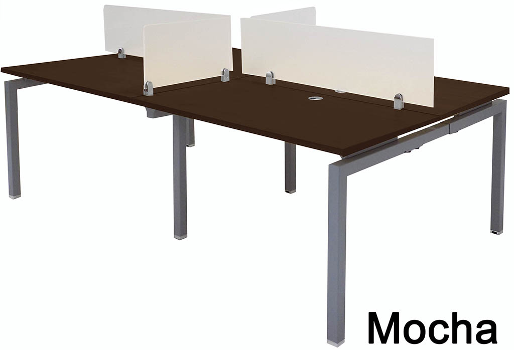 4 Person Benching Workstation W 48 Quot X 28 Quot Worksurfaces