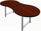 "40"" x 72"" Custom Break-Out Conference Table w/ Pop-Up Power Module - Other Sizes Available"