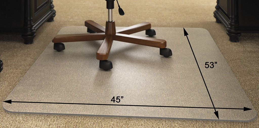 high pile carpet 25 thick chair mats 36 x48 see more sizes