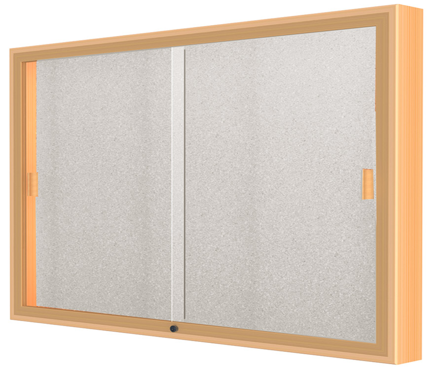 60 W X 36 H Sliding Door Wall Display