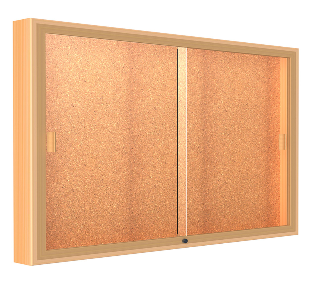 60 W X 48 H Sliding Door Wall Display