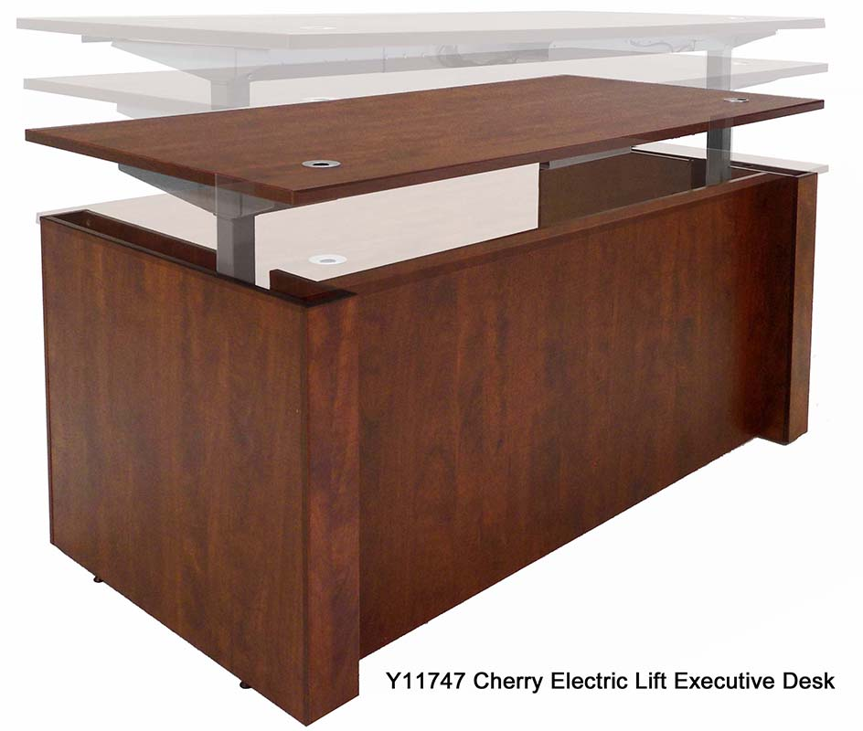Adjule Height Executive Desk