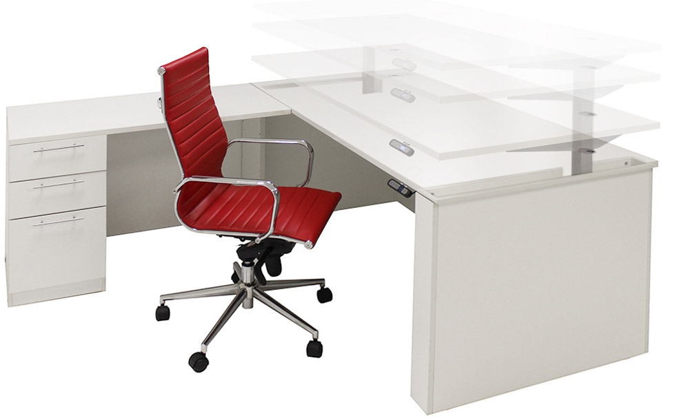 L Shaped Office Desk Dimensions