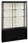 Black Pedestal Display Cases