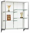 "48""H Champion Aluminum Frame Wall Mount Display Cases"