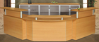 Corporate Custom Reception Desk