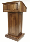 Counselor Solid Walnut Wood Lectern