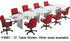 Custom Boat-Shaped Conference Tables from 6' to 18' - 6' x 36