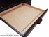 Deluxe Solid Oak Laptop Roll Top Desk