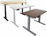 "Electric Lift Height Adjustable Tables- 48""W x 28""D - Other Sizes Available"