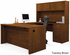 Embassy Collection - U-Shaped Workstation