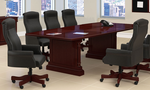 English Cherry Expandable Traditional Conference Tables - 8' Table - See Other Sizes