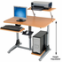 Ergonomic Pneumatic Lift Workstation