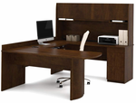 Executive U-Desk w/Hutch in 2 Color Choices!