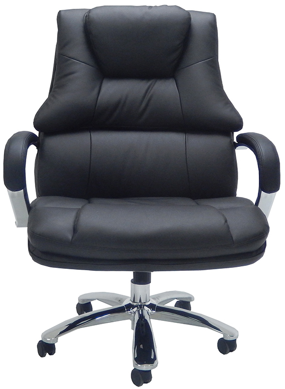 Extra Wide 500 Lbs Capacity Leather Desk Chair