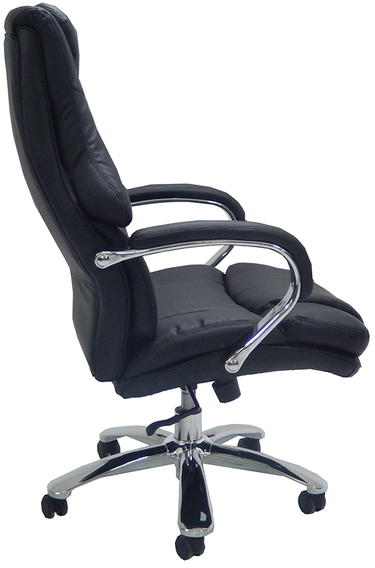 Extra Wide 500 Lbs. Capacity Leather Desk Chair