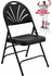 Fan-Back Polypropylene Folding Chair
