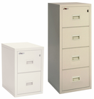 "FireKing Turtle Fireproof Files -- 22""D 4-Drawer Vertical File"