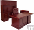 Franklin Traditional Dark Cherry Veneer Office Furniture- 72