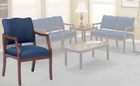 Franklin Traditional Reception Seating - Arm Chair