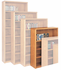 Genuine Oak Bookcases - 48