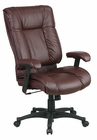 High Back Leather Synchro Chair in 3 Color Choices!