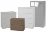 """In Stock Steel Lateral Files - 30""""W 2-Drawer Steel Lateral File"""