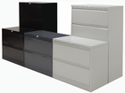 In Stock Value Non-Locking Steel Lateral Files - 2 Drawer File
