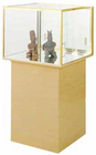 Museum Centerpiece Display Case Pedestal