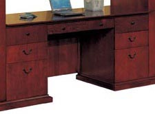 Kneehole Credenza w/out Return Moulding