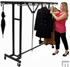 6' Wide Portable Folding Coat Rack