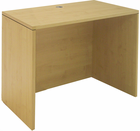 "Modern Office Structures Maple 36""W Lowered Desk Shell"