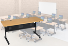 "Modular Flip-Top Training Tables - 60""W x 24""D Training Table"