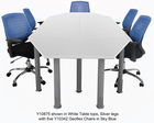 Modular Training Tables - Modular Meeting Table