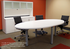 Oval Conference Table - 8' Length- See Other Sizes