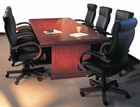 QuickShip Cherry & Mahogany Traditional Wood Conference Tables From 8' to 30'!