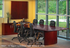 QuickShip Wood Veneer Napoli Conference Tables - 6' Table